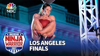 Rebekah Bonilla at the Los Angeles Finals - American Ninja Warrior 2017