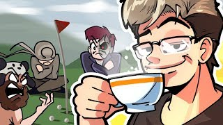 THE BREAKDOWN OF A MAN!! - Mini Golf Funny Moments (Golf It Gameplay)