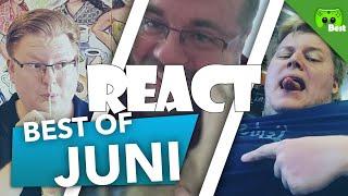 React: Best of Juni 2017 🎮 PietSmiet React #20