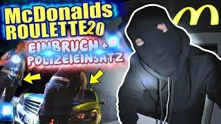 McDonalds PRANK FAIL - EINBRUCH PRANK + POLIZEI - McDonalds Roulette Parodie