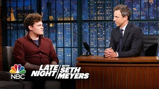 Late Night Writer Ben Asks Seth to Be with Him in the Silence