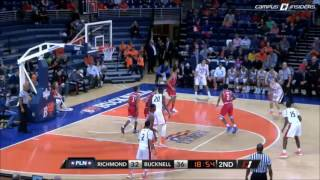 Bucknell MBB vs. Richmond - Highlights