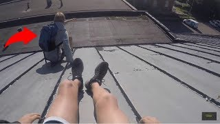 LATE TO FIRST DAY OF SCHOOL | PARKOUR POV