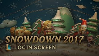 Snowdown 2017 | Login Screen - League of Legends