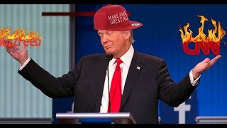 Donald Trump humiliates BuzzFeed and CNN over #Goldenshowergate scandle