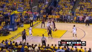 How the Warriors Defense Shut Down the Blazers in Game 2