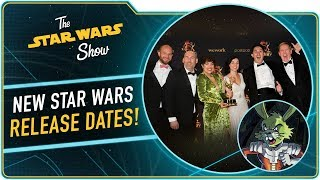 Star Wars Dates Announced, Plus We Won an Emmy!