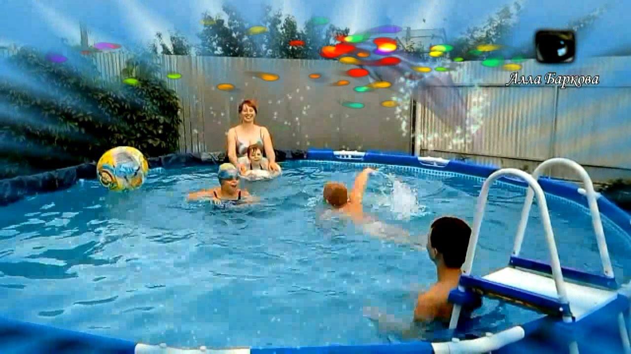 Взрослые веселые конкурсы в бассейне