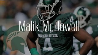 "Malik McDowell || ""Heavyweight"" Michigan State Highlight Video"