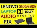 Lenovo G500/G500s Series Laptop Dolby Au...mp3