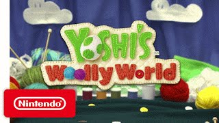 Yoshi's Woolly World - Game Trailer for PAX 2015