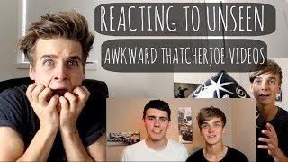 Reacting To Unseen Awkward ThatcherJoe Vids