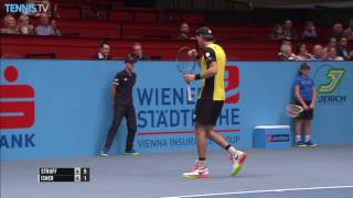 2016 Erste Bank Open, Vienna: Monday Highlights ft. Berdych & Khachanov