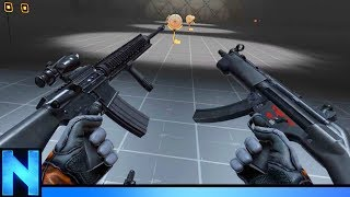 Testing The BEST VR GUNS Ever Made!