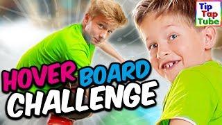 HOVERBOARD CHALLENGE - Der menschliche Fidget Spinner? TipTapTube