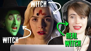 "A Real Witch Reviews ""Sabrina"" And Other Witches From TV And Movies"