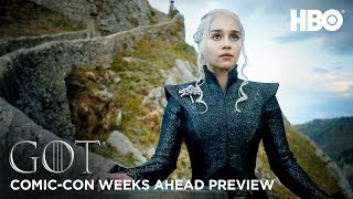 Game of Thrones Season 7: Weeks Ahead Comic Con Preview (HBO)
