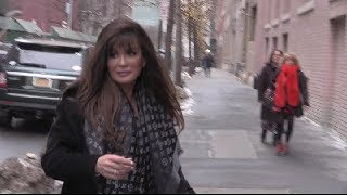 Marie Osmond arriving at the View