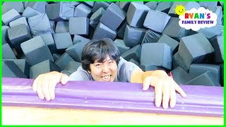 Parkour Trampoline Indoor Playground with Ryan