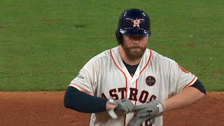 ALCS Gm7: McCann rips a two-run double to right field