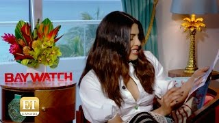 Baywatch Cast Play  Beach-Bod Game   Priyanka Chopra