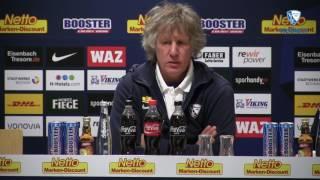 Die Pressekonferenz vor der Partie Hannover 96 gegen den VfL Bochum 1848