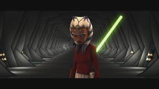 Star Wars: The Clone Wars - Ahsoka Tano & Anakin Skywalker vs. Cad Bane [1080p]
