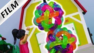 Playmobil Film Deutsch - BUBBLE FUSSBALL ESKALIERT! Julian + Freund machen Quatsch | Familie Vogel