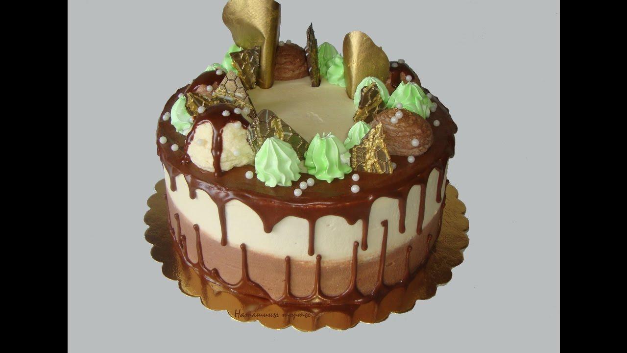 Крем для выравнивания торта из шоколада