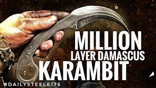 1 MILLION LAYER DAMASCUS KARAMBIT!!!!!