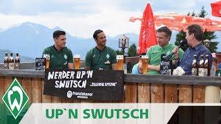 Up´n Swutsch im Zillertal | Werder Bremen zu Gast auf der Kreuzwiesenalm | SVW