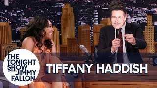 Tiffany Haddish Role-Plays Her First Date with Brad Pitt