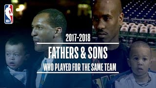 Father and Sons Who Played For The Same Team (Gary Payton Sr. & II, Larry Sr. & Jr. Plus More!)