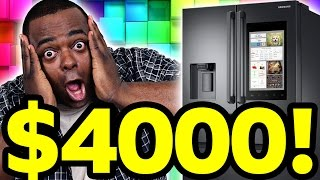 A $4000 FRIDGE?! WHAT???