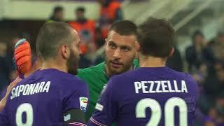 Il gol di Victor Hugo - Fiorentina - Benevento 1-0 - Giornata 28 - Serie A TIM 2017/18