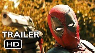 Deadpool 2 Official Teaser Trailer #2 (2018) Ryan Reynolds Marvel Movie HD