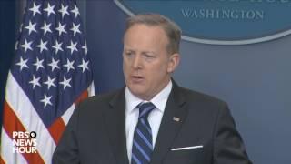 WATCH LIVE: Press secretary Sean Spicer holds daily White House news briefing