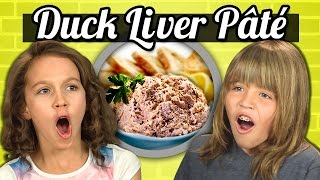 KIDS vs. FOOD - DUCK LIVER PATE