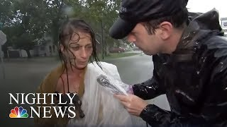 A Race Against Time To Evacuate Bay City, Texas | NBC Nightly News
