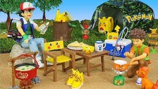 Pokemon Camping - Candy Toys (Re-Ment Miniatures)