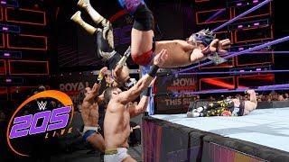 Kalisto, Metalik & Dorado vs. TJP, Nese and Daivari: WWE 205 Live, Jan. 23, 2018