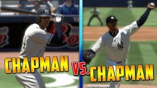 Can Aroldis Chapman Hit A Homerun Off Aroldis Chapman? MLB The Show 17 Challenge