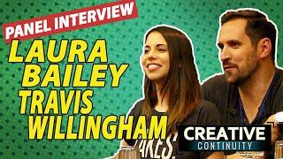 Fullmetal Alchemist: Brotherhood voice actors anime: Laura Bailey & Travis Willingham panel