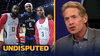 Skip and Shannon on reports Chris Paul is recruiting LeBron to come to Houston | NBA | UNDISPUTED