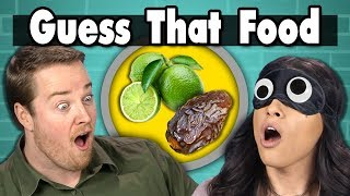 GUESS THAT FOOD CHALLENGE! | People Vs. Food (ft. FBE STAFF)