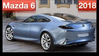 2018 Mazda 6 turbo | sport | preview | specs | price | engine | canada | usa | top 10s