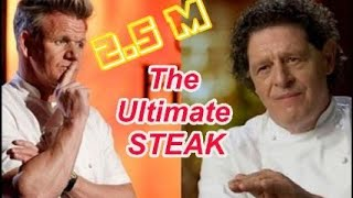 MARCO PIERRE WHITE vs GORDON RAMSAY, STEAK BATTLE
