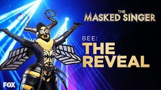 The Bee Is Revealed   Season 1 Ep. 10   THE MASKED SINGER