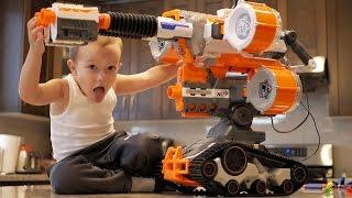 Toy Gun Military Set for Kids and Children - GunVsGun 2017 - Nerf Gun Fi.
