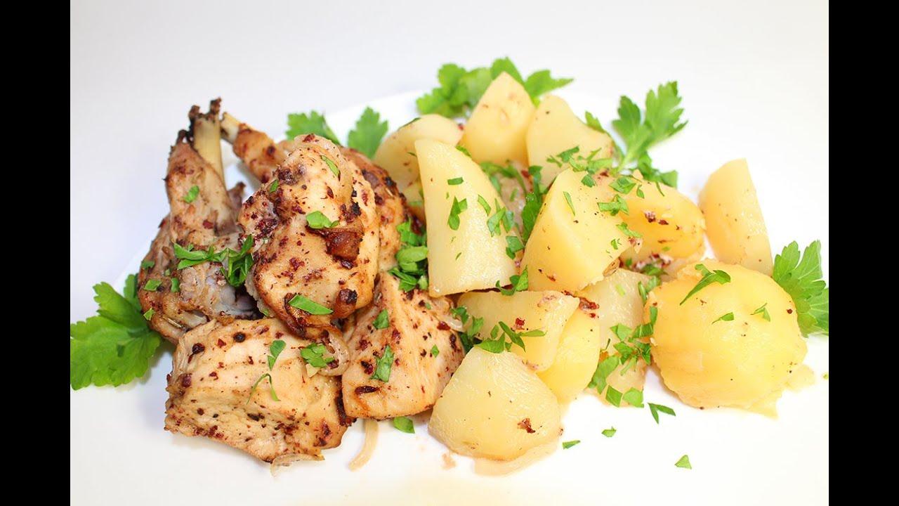 Как приготовить вкусный ужин из картошки и мяса
